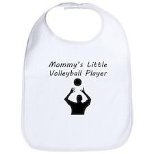 Mommys Little Volleyball Player Bib