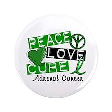 "Peace Love Cure 1 Adrenal C 3.5"" Button (100 pack)"