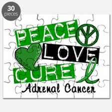 Peace Love Cure 1 Adrenal Cancer Puzzle