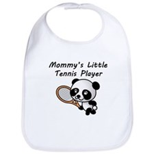 Mommys Little Tennis Player Bib