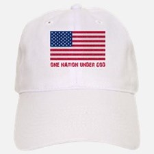 Old Glory Baseball Baseball Cap
