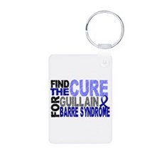 Find the Cure GBS Aluminum Photo Keychain