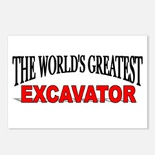 """""""The World's Greatest Excavator"""" Postcards (Packag"""