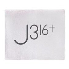 J316Typo.png Throw Blanket