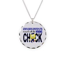 Messed With Wrong Chick 1 AS Necklace