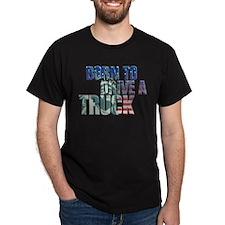 trucker - usa flag statue of liberty T-Shirt