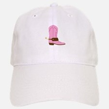 Pink Cowgirl Boot Spurs Baseball Baseball Baseball Cap
