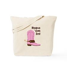 Rope em In! Tote Bag
