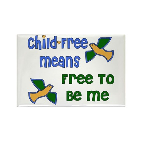 Child-Free Me Rectangle Magnet (100 pack)