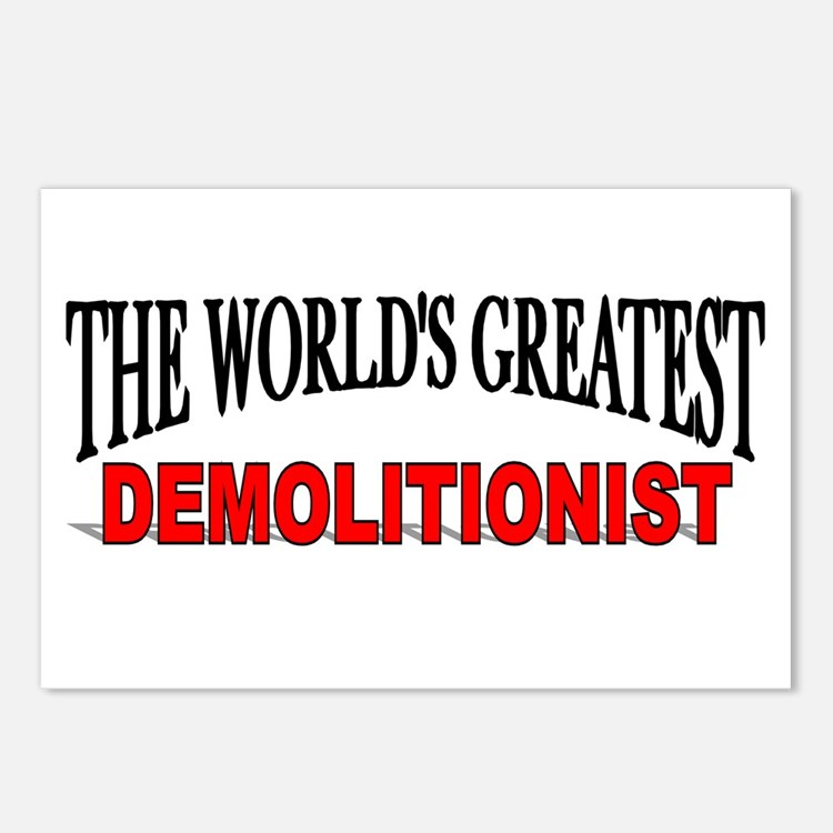 """""""The World's Greatest Demolitionist"""" Postcards (Pa"""