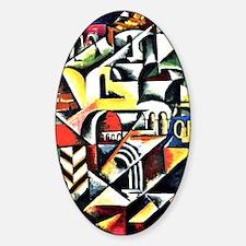 Cubist Cityscape - Liubov Popova ar Decal