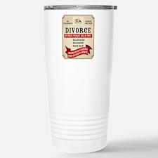 Medicinal Divorce Label Travel Mug