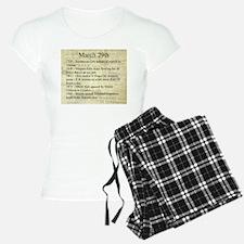 March 29th Pajamas