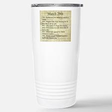 March 29th Travel Mug