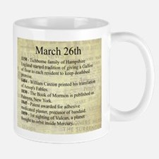March 26th Mugs
