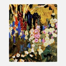 J.E.H. MacDonald, Garden Flowers Throw Blanket