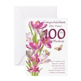 100 year birthday Greeting Cards