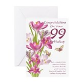 99th birthday Greeting Cards