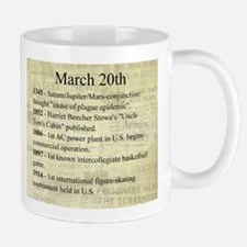 March 20th Mugs