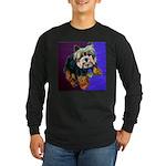 Yorkie! Long Sleeve Dark T-Shirt
