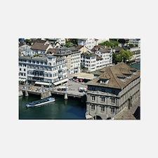 Zurich 001 Rectangle Magnet
