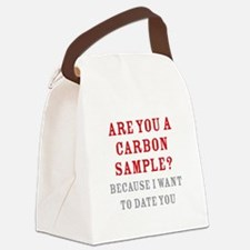 Carbon Dating Canvas Lunch Bag