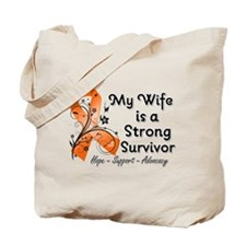 Wife Strong Survivor Tote Bag