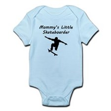 Mommys Little Skateboarder Body Suit
