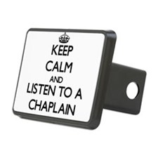 Keep Calm and Listen to a Chaplain Hitch Cover