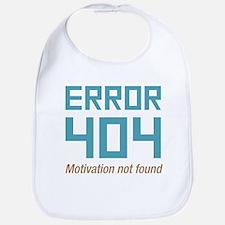 Error 404 Motivation Bib