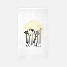 Zombies 3'x5' Area Rug