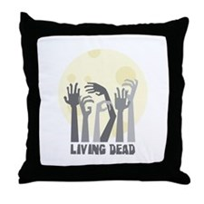 Living Dead Throw Pillow