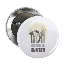 """Zombie Hunter 2.25"""" Button (100 pack)"""