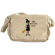 The Witch Is In Messenger Bag
