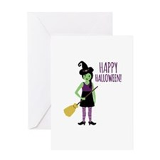 Happy Halloween! Greeting Cards