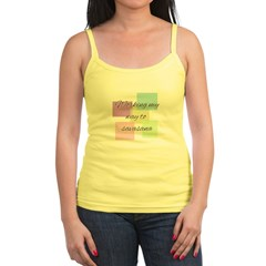 Working My Way to Savasana Tank Top