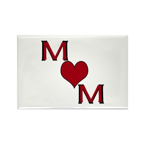 Mom Rectangle Magnet (100 pack)
