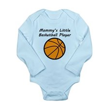 Mommys Little Basketball Player Body Suit