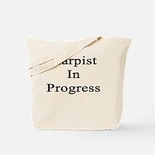 Harpist In Progress  Tote Bag
