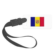 Flag of Andorra Luggage Tag