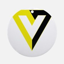 Voluntaryism Round Ornament