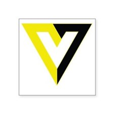 "Voluntaryism Square Sticker 3"" x 3"""