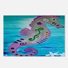 Sassy Seahorse Postcards (Package of 8)
