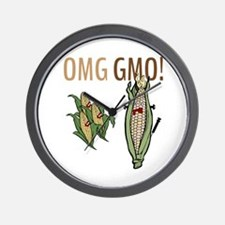 OMG GMO! Wall Clock