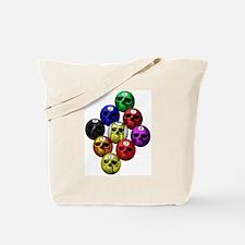 9 ball skull rack Tote Bag
