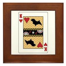 King Norfolk Framed Tile