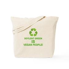 Soylent Green IS Vegan People! Tote Bag