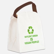 Soylent Green IS Vegan People! Canvas Lunch Bag