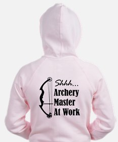 Archery Master (compound) Zip Hoodie