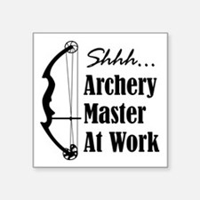 Archery Master (compound) Sticker